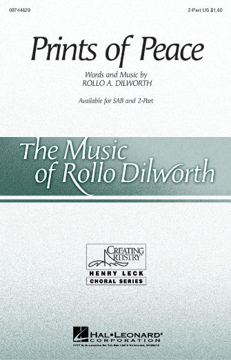 Prints of Peace : 2-Part : Rollo Dilworth : Sheet Music : 08744629 : 073999562071