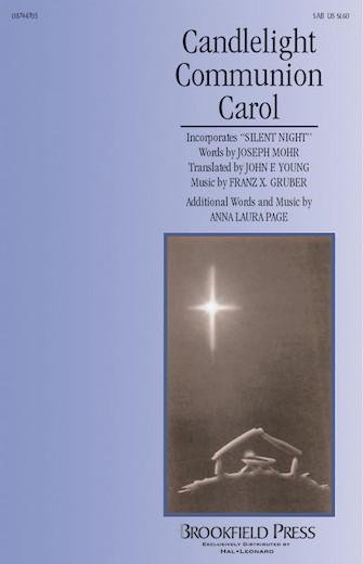 Candlelight Communion Carol : SAB : Anna Laura Page : Anna Laura Page : Sheet Music : 08744705 : 073999447057