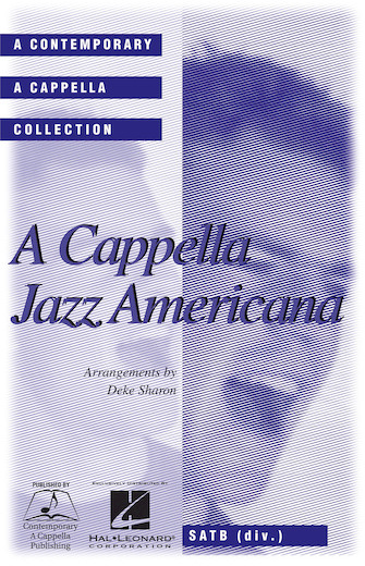 Product Cover for A Cappella Jazz Americana