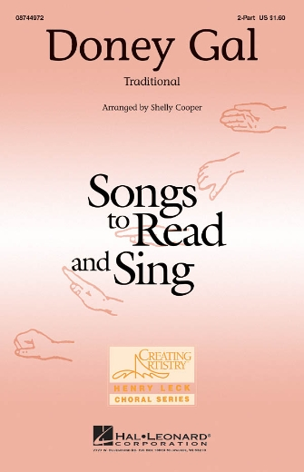 Doney Gal : 2-Part : Shelly Cooper : Sheet Music : 08744972 : 073999449723