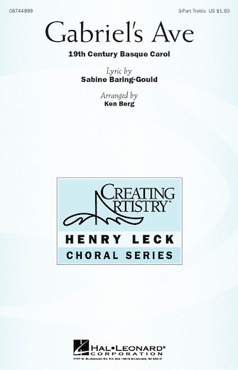Gabriel's Ave : SSA : Ken Berg : Sheet Music : 08744999 : 073999987478