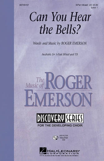 Can You Hear the Bells? : TB : Roger Emerson : Roger Emerson : Sheet Music : 08745158 : 884088016203