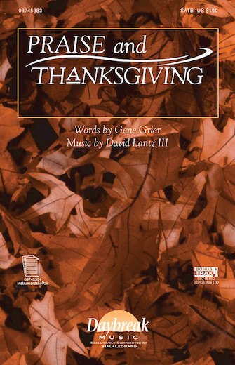 Product Cover for Praise and Thanksgiving