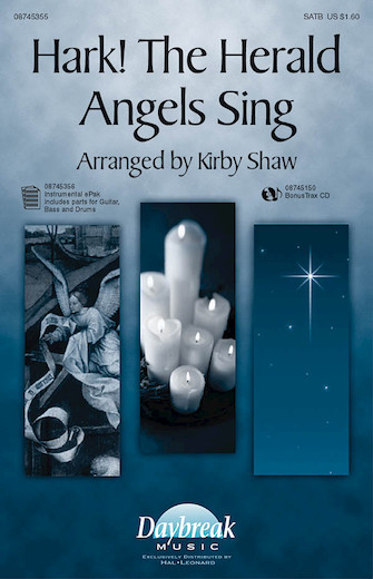 Hark! The Herald Angels Sing : SATB : Kirby Shaw : Sheet Music : 08745355 : 884088061012