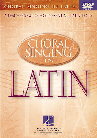Product Cover for Choral Singing in Latin