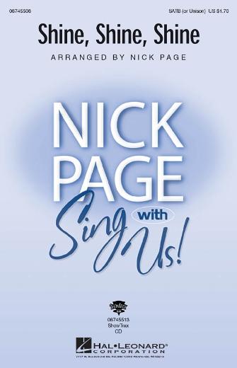Shine, Shine, Shine : SATB : Nick Page : Sheet Music : 08745508 : 884088069742