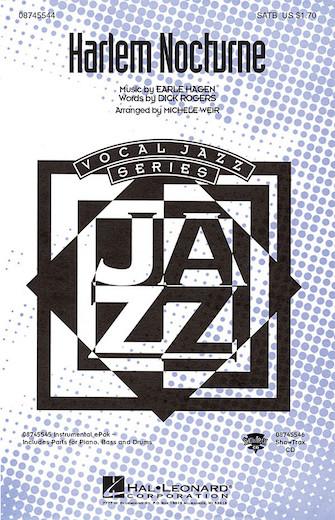 Harlem Nocturne : SATB : Michele Weir : Sheet Music : 08745544 : 884088071356