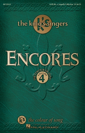 Product Cover for Encores – The King's Singers Colour of Song, Volume 4