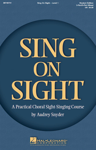 Product Cover for Sing on Sight