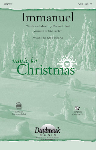 Immanuel : SATB : John Purifoy : Michael Card : Sheet Music : 08745957 : 884088133184