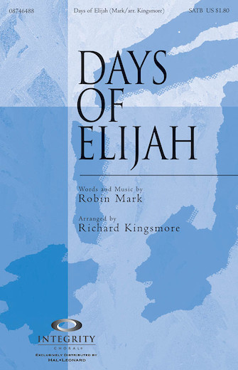 Product Cover for Days of Elijah