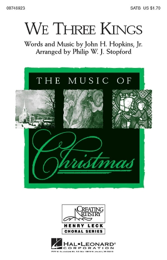 We Three Kings : SATB : Philip Stopford : Jonathan Larson : Rent : Sheet Music : 08746923 : 884088138967