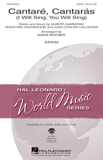 Cantare, Cantaras : 2-Part : Mark Brymer : Sheet Music : 08747005 : 884088141851