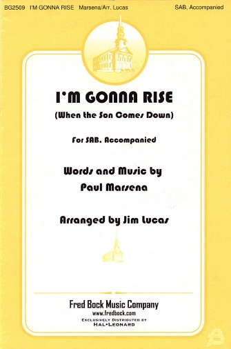 Product Cover for I'm Gonna Rise (When the Son Comes Down)