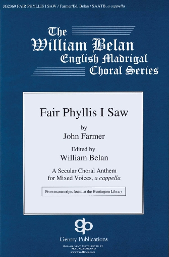 Product Cover for Fair Phyllis I Saw