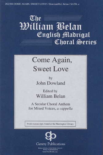 Product Cover for Come Again, Sweet Love
