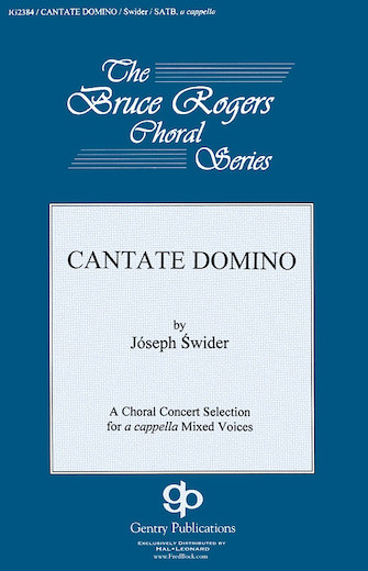 Product Cover for Cantate Domino