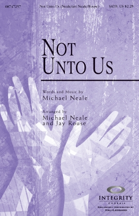 Product Cover for Not Unto Us