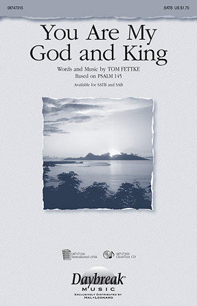 Product Cover for You Are My God and King