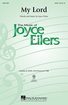 My Lord : 3-Part : Joyce Eilers : Joyce Eilers : Sheet Music : 08545500 : 073999455007
