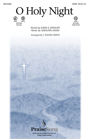 O Holy Night : SATB : J. Daniel Smith : Sheet Music : 08747924 : 884088209599