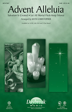 Advent Alleluia : 2-Part : Keith Christopher : Sheet Music : 08747998 : 884088211479