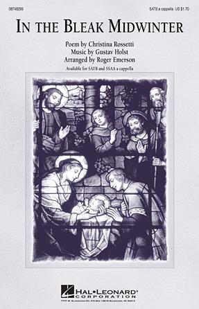 In the Bleak Midwinter : SATB : Roger Emerson : Gustav Holst : Sheet Music : 08748299 : 884088219024