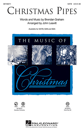 Christmas Pipes : SATB : John Leavitt : Celtic Woman : Showtrax CD : 08748371 : 884088220679