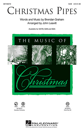 Christmas Pipes : SAB : John Leavitt : Celtic Woman : Sheet Music : 08748372 : 884088220686