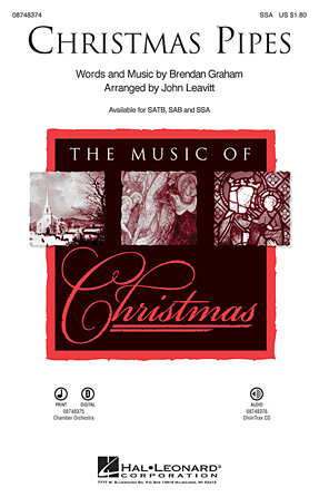 Christmas Pipes : SSA : John Leavitt : Celtic Woman : Sheet Music : 08748374 : 884088220709