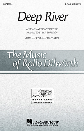 Deep River : 2-Part : Rollo Dilworth : Sheet Music : 08748854 : 884088241841