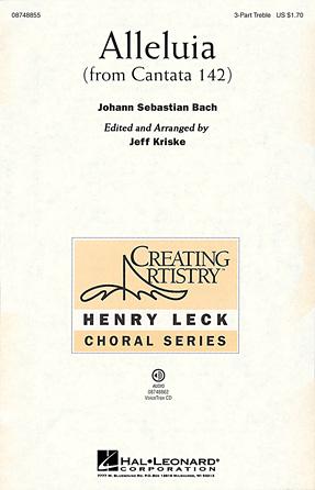 Alleluia : SSA : Jeff Kriske : Sheet Music : 08748855 : 884088241858