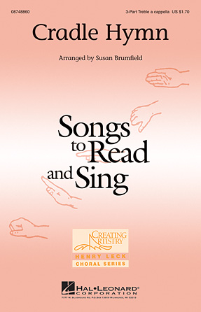Cradle Hymn : SSA : Susan Brumfield : Sheet Music : 08748860 : 884088241896