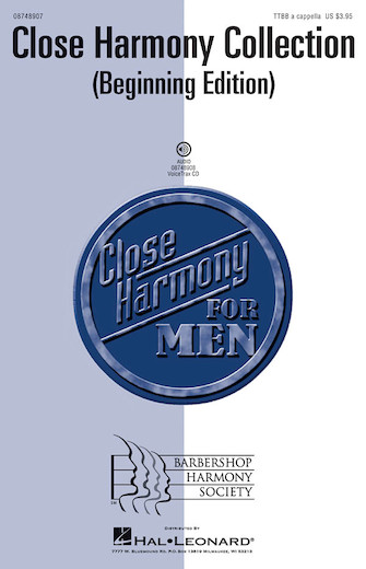 Close Harmony Collection : TTBB : Various : Sheet Music : 08748907 : 884088243661