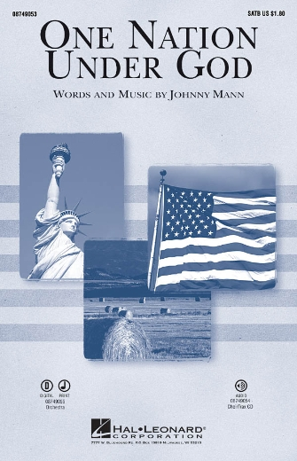 One Nation Under God : SATB : Johnny Mann : Sheet Music : 08749053 : 884088258986