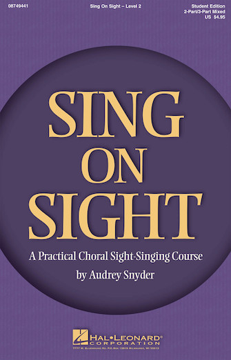 Product Cover for Sing on Sight – A Practical Sight-Singing Course