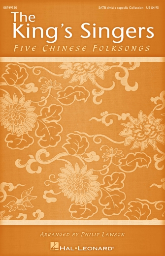 Product Cover for Five Chinese Folksongs