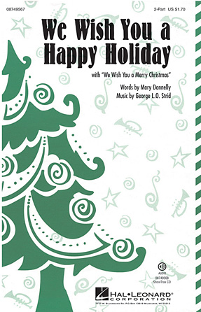 Product Cover for We Wish You a Happy Holiday