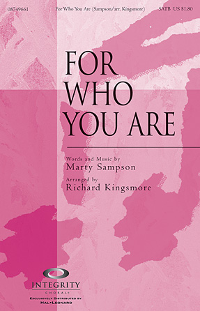 Product Cover for For Who You Are