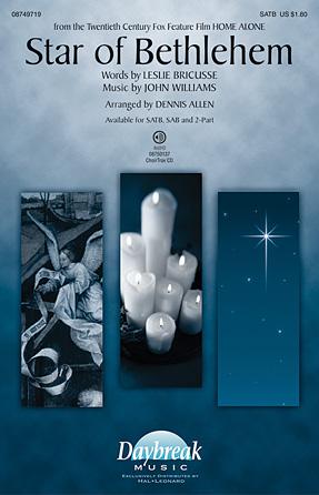Star of Bethlehem : 2-Part : Dennis Allen : Sheet Music : 08749721 : 884088324919
