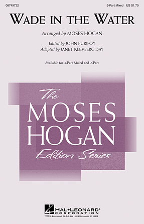 Wade in the Water : 3-Part : Moses Hogan : Sheet Music : 08749732 : 884088325084