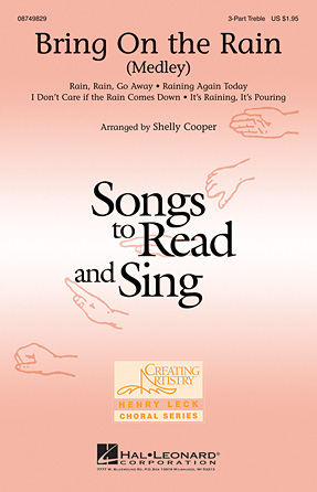 Bring On the Rain : SSA : Shelly Cooper : Sheet Music : 08749829 : 884088327873
