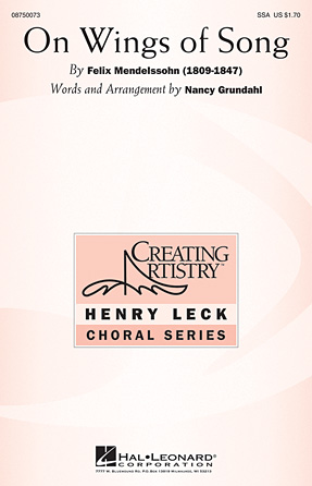 Product Cover for On Wings of Song