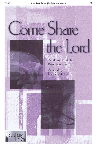 Product Cover for Come Share the Lord