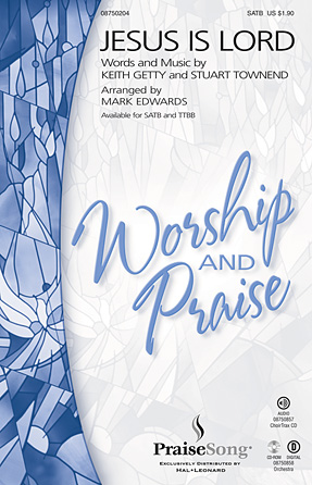 Jesus Is Lord : TTBB : Mark Edwards : Sheet Music : 08750205 : 884088406721