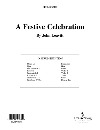 Product Cover for A Festive Celebration