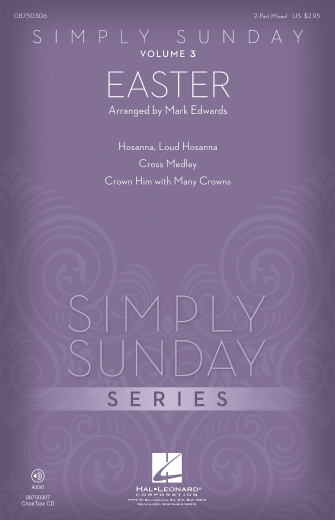 Product Cover for Simply Sunday (Volume 3 – Easter)