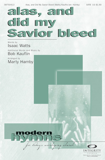 Product Cover for Alas, and Did My Savior Bleed