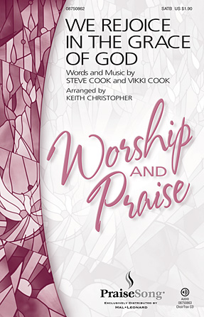 Product Cover for We Rejoice in the Grace of God