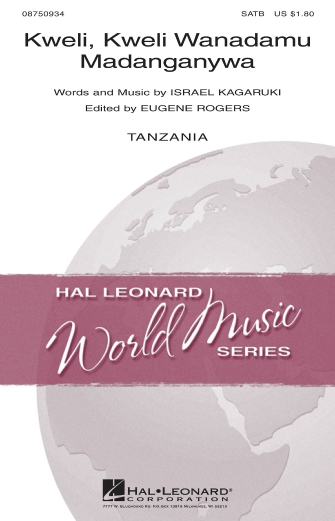 Kweli, Kweli Wanadamu Madanganywa : SATB : Israel Kagaruki : Israel Kagaruki : Sheet Music : 08750934 : 884088470449